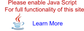 Please enable Java Script   For full functionality of this site Learn More
